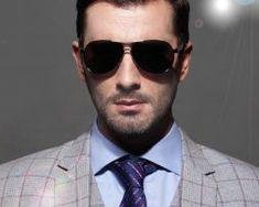 Luxusné polarizované pánske slnečné okuliare v čiernej farbe Ray Bans, Mens Sunglasses, Style, Fashion, Swag, Moda, Fashion Styles, Men's Sunglasses, Fashion Illustrations