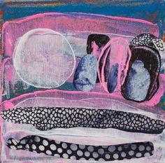"Saatchi Online Artist Anahita Azrahimi; collage painting, ""minto 45"" #art"
