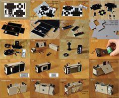 Blog Paper Toy Dippold Pinhole Camera instructions papercraft preview Dippold Pinhole Camera