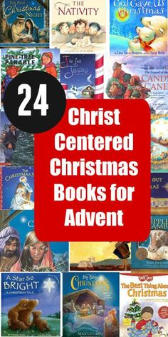 I LOVE this idea for Christmas. Each of these books focus around the Messiah, ma… I LOVE this idea for Christmas. Each of these books focus around the Messiah, maybe have a kid unwrap a book each night of advent? Preschool Christmas, Christmas Activities, Christmas Traditions, Christmas Themes, Christmas Crafts, Christmas Decorations, Christmas Candles, Family Traditions, Christmas Stuff