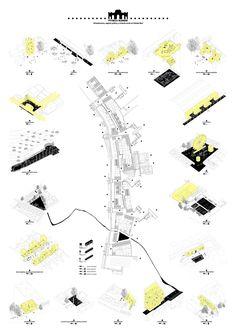 Héctor Rivera Bajo . Puerta Madrid. Cañada Real (8) #arquitectura #dibujos #presentaciones