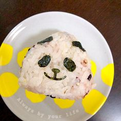 娘のお弁当用 - 13件のもぐもぐ - おにぎり(パンダ) by mitosmail47