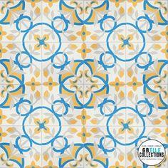 Granada Cement Tile - St. Tropez 883