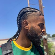 Our unisex hair oil helps lock in the moisture even in protective styles - whilst promoting a healthy scalp and strong hair. Available Find our shop in the bio 🛍 . Boys Haircuts Curly Hair, Boy Braids Hairstyles, Quick Braided Hairstyles, Black Hairstyles With Weave, Curly Weave Hairstyles, Twist Hairstyles, Male Hairstyles, Men's Haircuts, Hair And Beard Styles