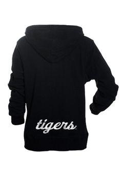 3023172e974db6 Missouri Tigers Womens Black Heartbreaker Full Zip Hooded Sweatshirt (back)  This is SO cute