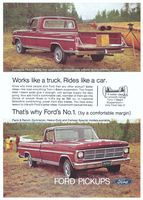 Ford Ranger Farm Truck 1969 Ad Picture