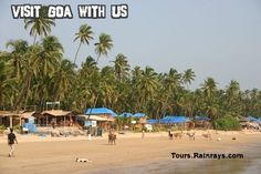 Palolem Beach Goa India. Visit India and know about real India