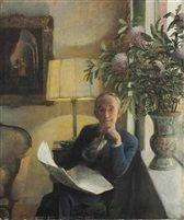 Portrait of the Artist's Father von John Koch