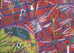A map of Swinging London's boutiques and clubs in Rave magazine, April 1966 Carnaby Street, London Street, Ghost Walk, Swinging London, London Clubs, London Places, Dandy, Great Britain, London Fashion