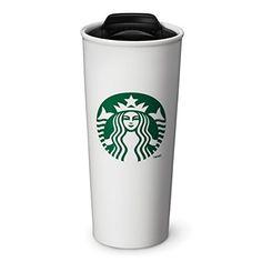 Starbucks Double Wall Ceramic Traveler Coffee Mug, 16 fl oz Starbucks Coupon, Starbucks Store, Starbucks Logo, Starbucks Tumbler, Starbucks Coffee, Hot Coffee, Coffee Cups, Ceramic Cups, Mug Cup
