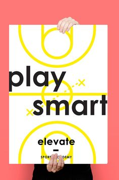 Elevate is a Sports Academy targeted to grade school and high school students. High School Students, Online Portfolio, Behance, How To Get, Play, Sports, Creative, Hs Sports, College Guys