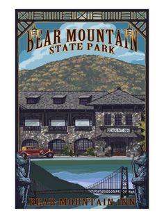 Bear Mountain State Park, New York - Bear Mountain Inn, c.2009