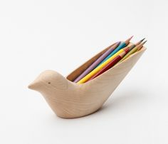 Bird desk organiser