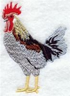Machine Embroidery Designs at Embroidery Library! - A Hens & Roosters Design Pack