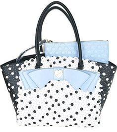 73a9a3f80 Betsey Johnson TOTE STRIPE SCALLOP BLUE Betsey Johnson. Amber Eckles ·  totes and bags
