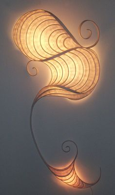 Luminous Inspirations by Kent Davis: Whimsical Doodle Paper Light, Light Art, Lamp Light, Driftwood Lamp, Wood Lamps, Tree Lighting, Unique Lighting, Luminaire Mural, Illumination Art