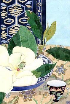 Magnolia grandiflora 1, by GABBY MALPAS.