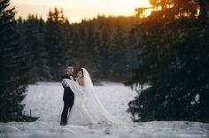 Amerikanische Winter Hochzeit in Europa 17