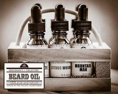 Hand Crafted Caveman® 3 Scents Mountain Beard Oil Beard Conditioner Health & Beauty Free Comb To Make One Feel At Ease And Energetic