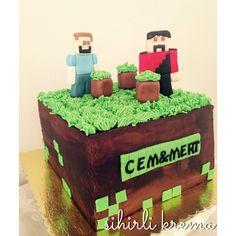 #minecraft #fondantcakes #butikpasta #sugarart