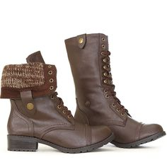 $27.99 :: Oracle Tan Combat Boots (men/women/fashion/apparel/clothes/style/shoes/fold over)