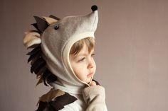 Too cute: a hedgehog costume!