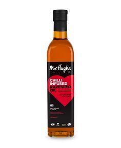 Mr Hugh's Chilli Infused Rapeseed Oil