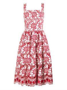 Floral macramé-lace dress   Dolce & Gabbana   MATCHESFASHION.COM