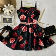 Teen Fashion Outfits, Girly Outfits, Classy Outfits, Cute Fashion, Dress Outfits, Casual Outfits, Fashion Dresses, Cute Outfits, Cheap Dresses