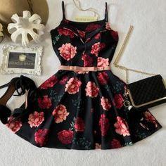 Girls Fashion Clothes, Teen Fashion Outfits, Girly Outfits, Classy Outfits, Cute Fashion, Dress Outfits, Casual Dresses, Short Dresses, Fashion Dresses