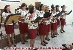 Modelos de fardas para Grupos Evangélicos: Modelo de farda do Círculo de Oração da Igreja Batista em Guaruhos
