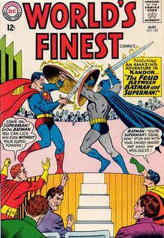 World's Finest #143, august 1964, cover by Curt Swan and George Klein.