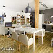 Projekt domu Wróbel - wariant A - Dom Dla Ciebie Office Desk, Table, Furniture, Home Decor, Home Plans, Homemade Home Decor, Desk, Mesas, Home Furnishings