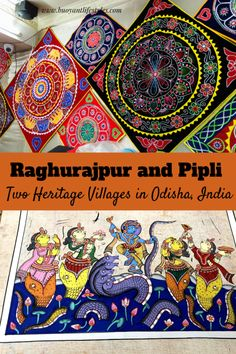Heritage Villages in Odisha Raghurajpur and Pipli #raghurajpur #pipli   Patachitra of Odisha #odisha #incredibleindia #indiatravel  #odishaheritagevillage #odishatourism  + Heritage villages in Odisha +  Pipli   And Raghurajpur +  Off beat places in Odisha