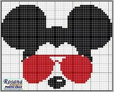 Beaded Cross Stitch, Cross Stitch Charts, Cross Stitch Embroidery, Graph Paper Art, Disney Cross Stitch Patterns, Stitch Cartoon, Pixel Pattern, Cross Stitch Alphabet, Needlepoint Patterns