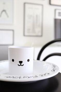 Homevialaura | kids tableware | Buddy and Bear
