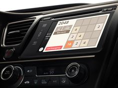 2048 anywhere with iOS CarPlay