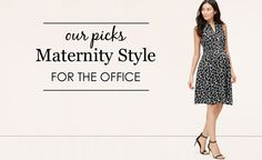 Maternity Style for the Office -
