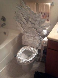 Game of Thrones bathroom :D | Na itt trónolnék: Trónok harca klotyó