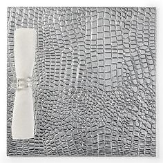 Everglades Placemat in Silver