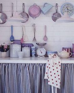 Coisas de Lu: Cortinas para cozinhas....