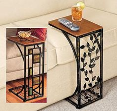 Sofa Side Table @ Harriet Carter  - these are really useful and pretty for the price.