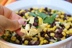 As the weather starts to really heat up outside, I felt it was time to share with you this refreshingly cool, tasty salad. Black beans and...