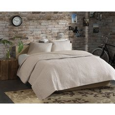 Eco Weave Simon 3-piece Coverlet Set - Overstock Shopping - Great Deals on Quilts