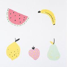 Jimmy Cricket Fruity Wall Stickers| $29.95 #bedroom #decals #nursery #kids #sweetcreations