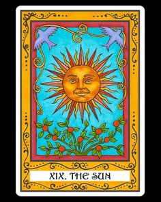 XIX.The Sun: The Incidental Tarot
