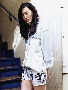 Great Isabel Marant Editorial in Vogue Korea