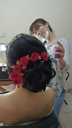 Chinese engagement hairstyle