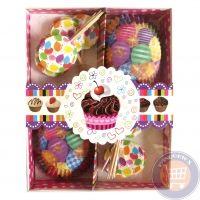 Konyha felszerelés - Muffin papírok, tortacsipkék, bonbondobozok