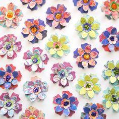 25 Handmade Paper FLOWERS by PapersAndPetals on Etsy, $4.00
